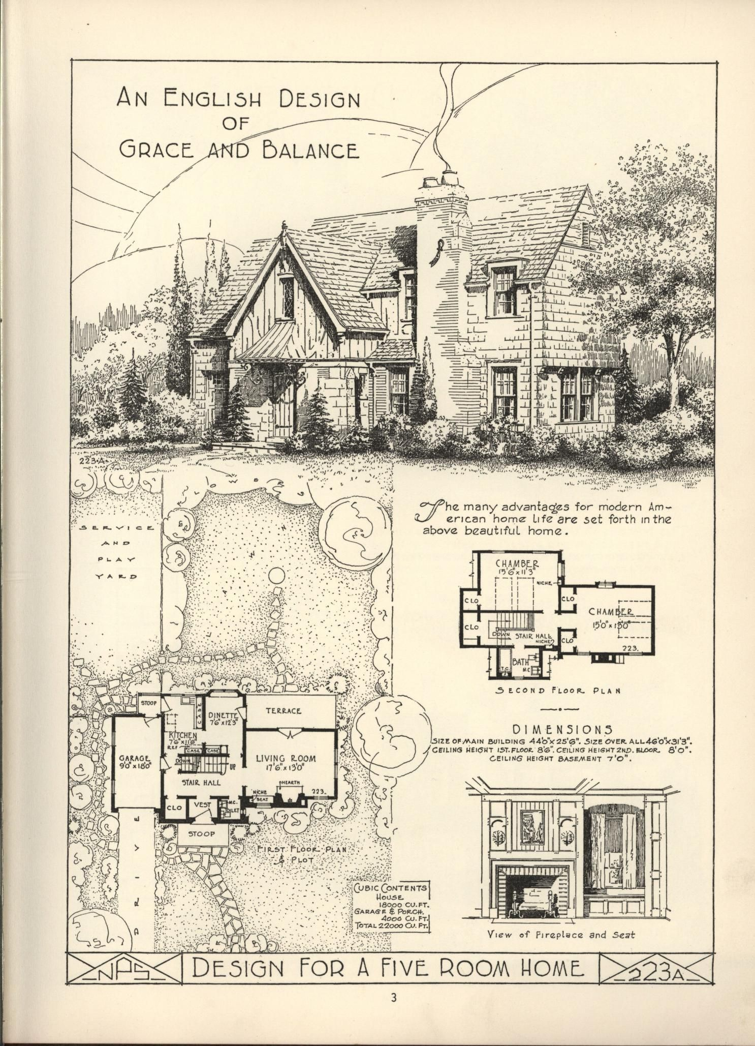 Lake Shore Lumber Coal House Plans