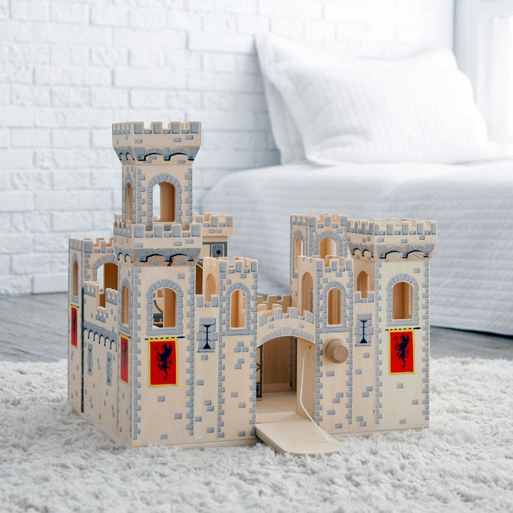 Melissa And Doug Retro Kitchen Melissa And Doug Folding Medieval Castle Gifts For The Kids