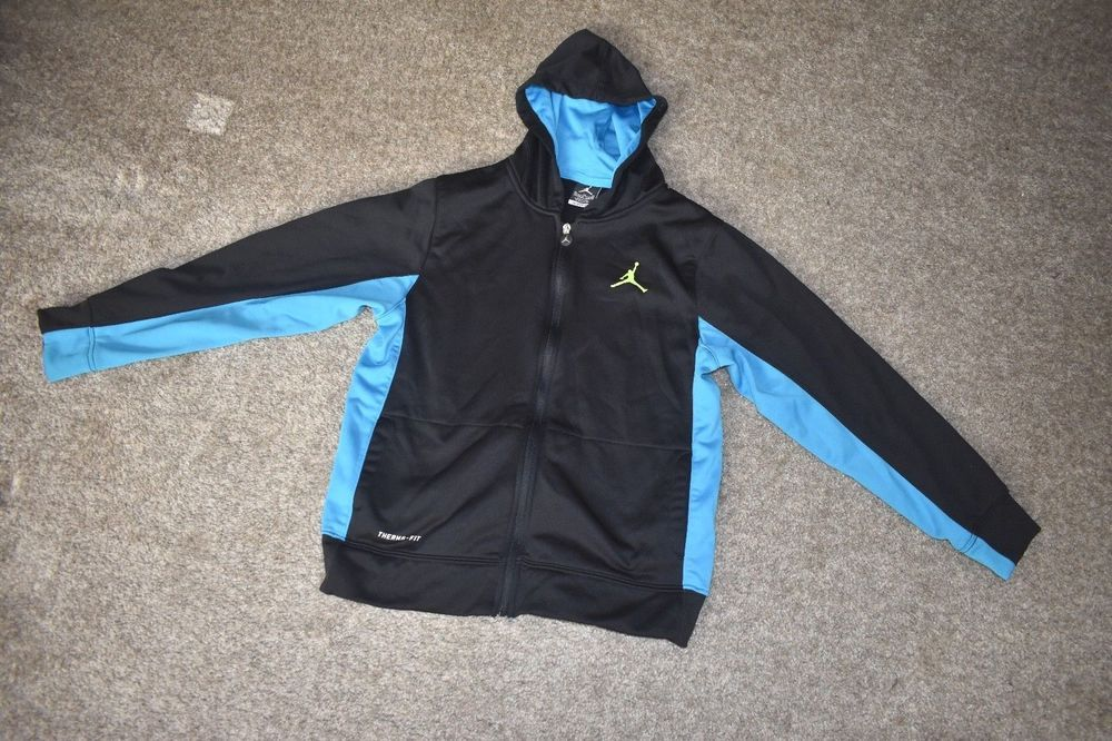 d4d523e2914 Nike Air Jordan Jumpman Full Zip Hoodie Michael Jordan Jacket Size Youth  13-15 #NikeMichaelJordan #BasicJacket #Everyday
