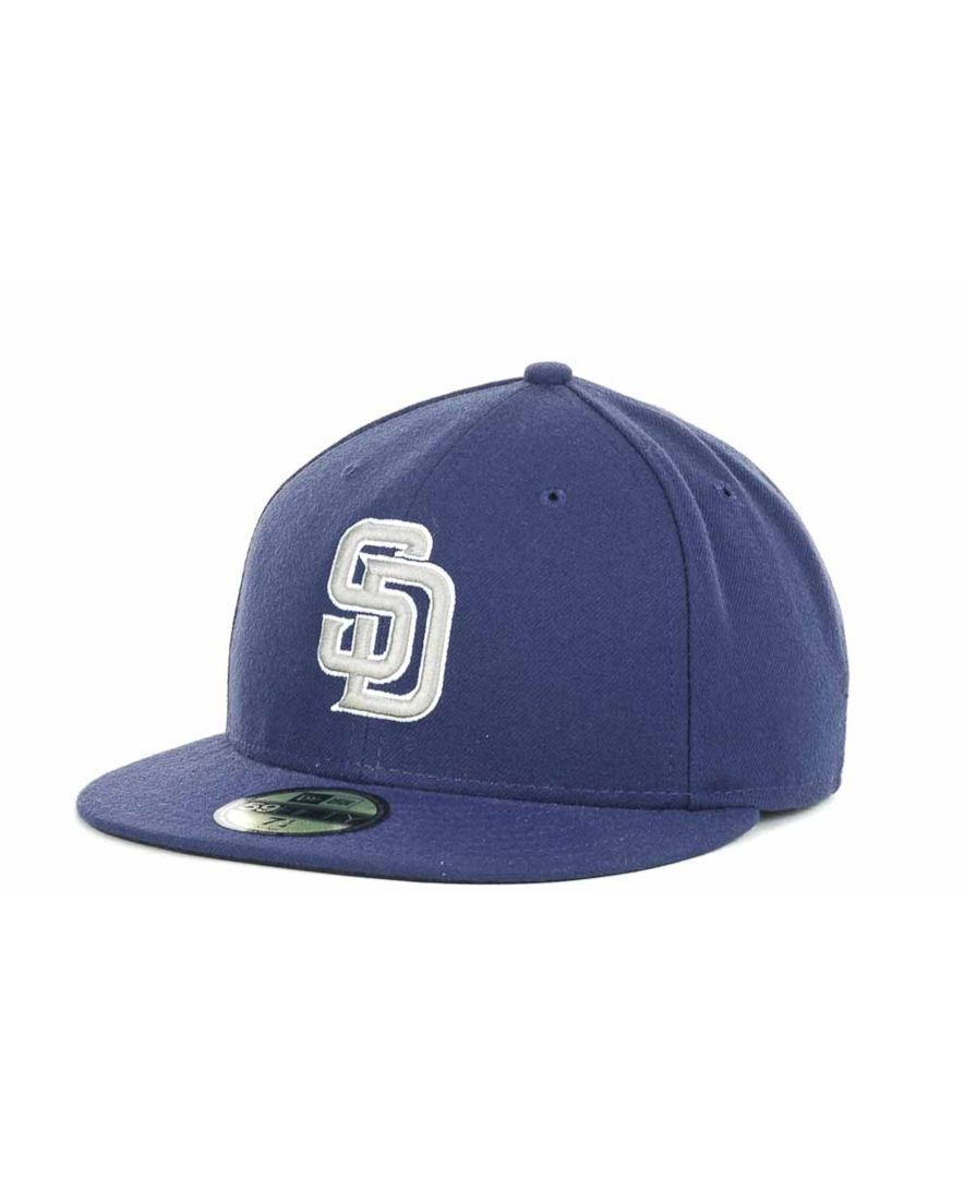 super popular 14e7b 9f3f0 New Era San Diego Padres Authentic Collection 59FIFTY Cap