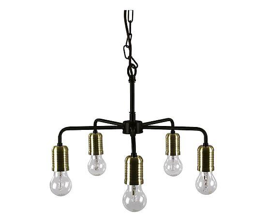 Hanglamp Down Messing 45 Cm