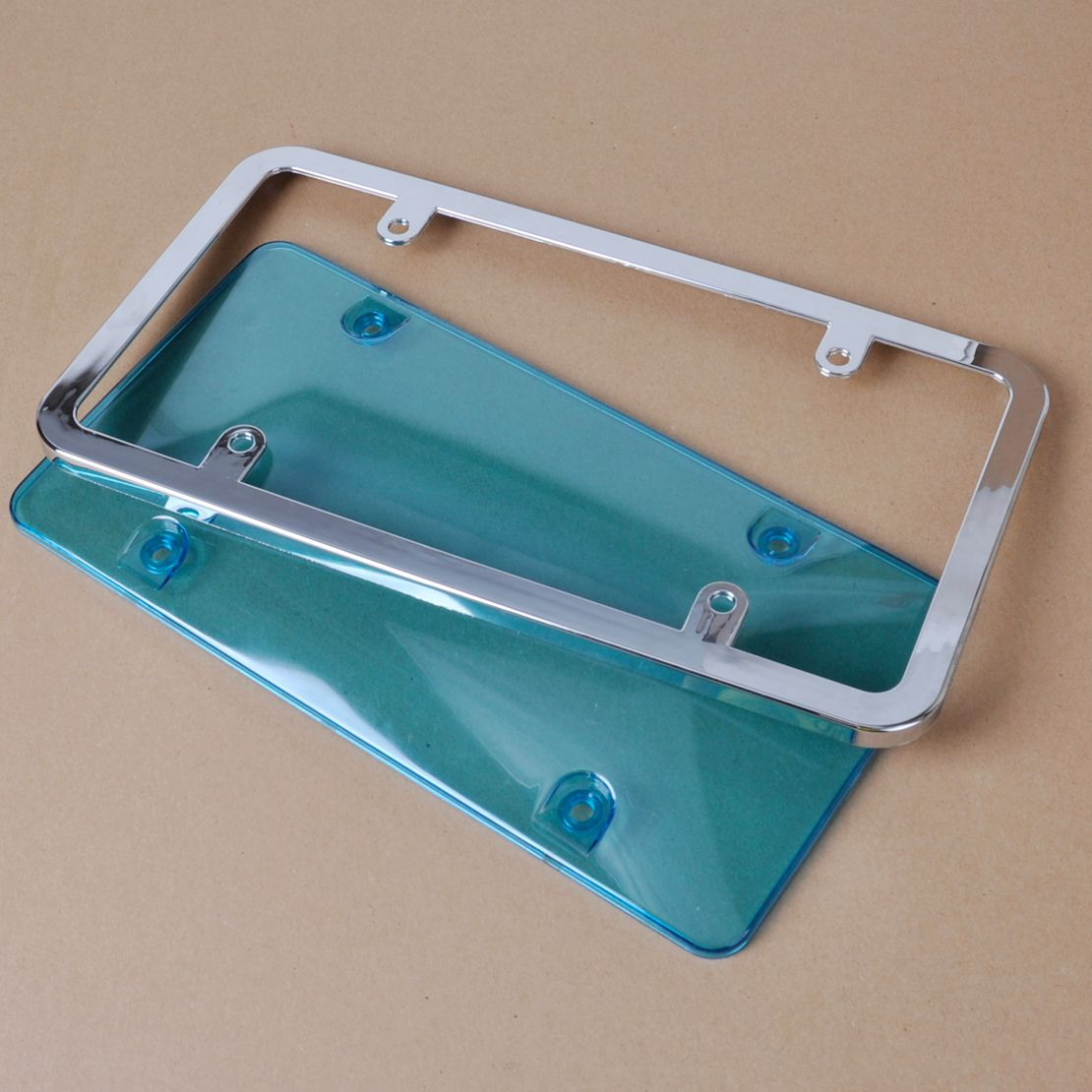 New Arrival Chrome License Plate Frame Combination Universal for For ...