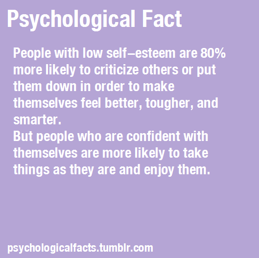 Hmm, sounds about right. People need to love themselves and BE NICE to others!