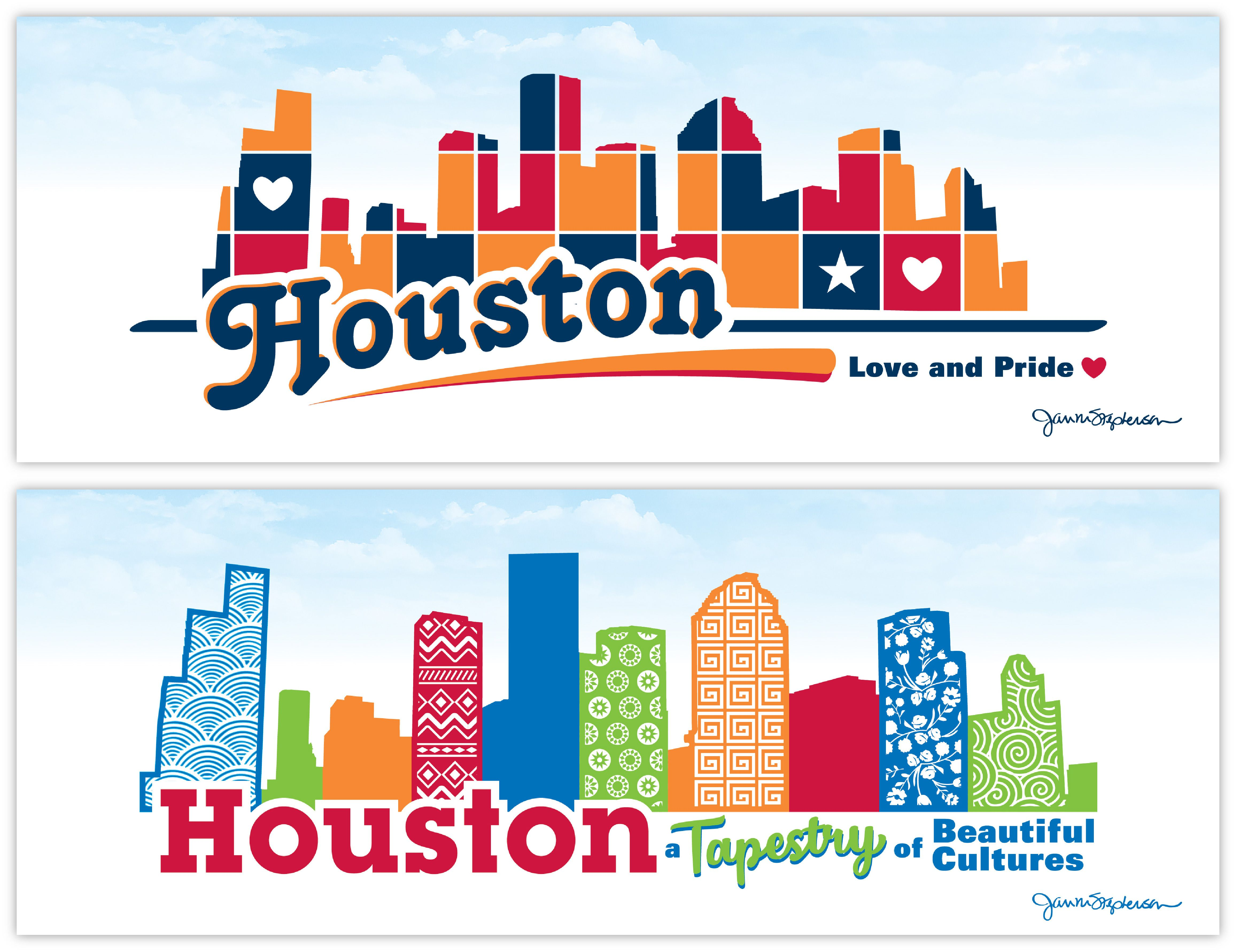 Houston texas products gifts jan m stephenson