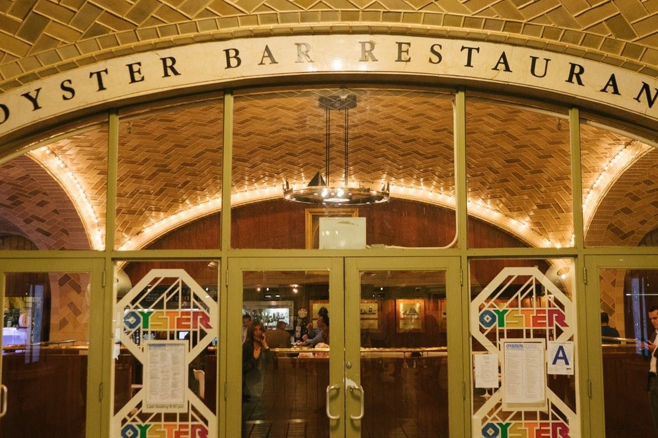 Where To Eat Near Grand Central New York Oyster bar