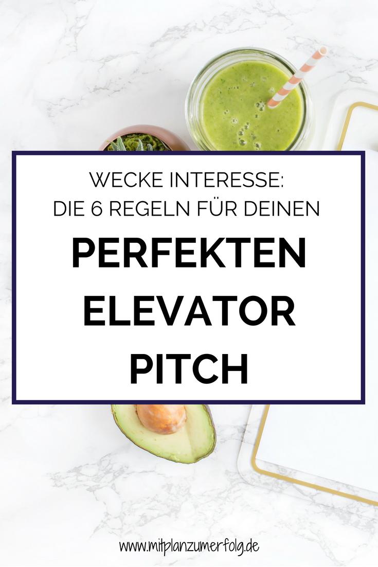 Die Vorteile für den Zielkundenim perfekten Elevator Pitch knackig so zu beschreiben, dass jemandLust auf mehr bekommt wirkt wie ein Brandbeschleuniger