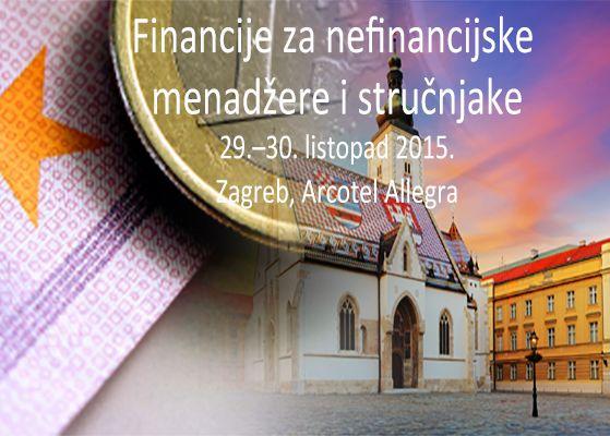 Financije Za Nefinancijske Menadzere I Strucnjake U Zagrebu Vise Informacija Na Http Www Omegafinance Si Hr Osnovefinancij Risk Management Seminar Investing