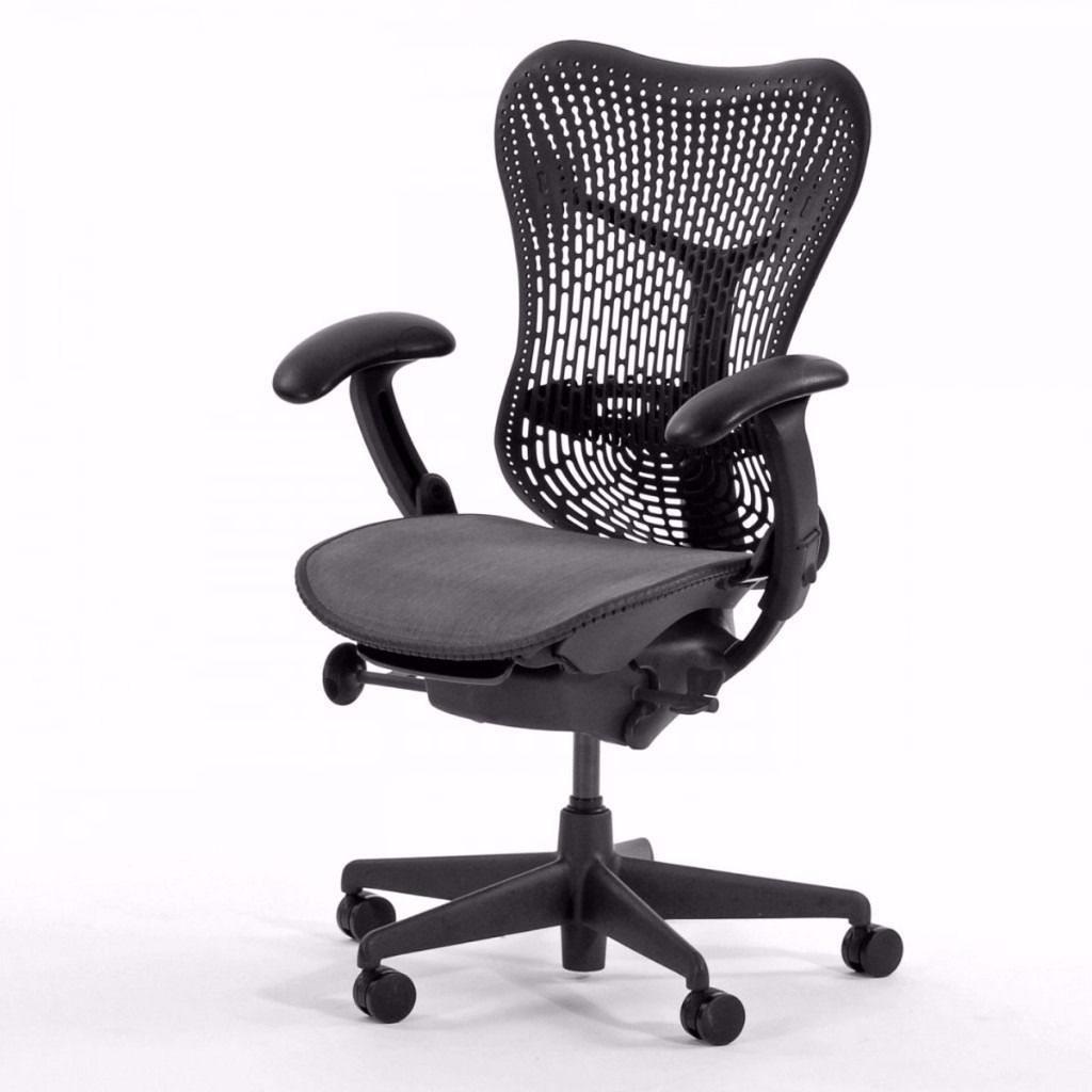 White Ergonomic Office Chair Uk High Converts To Table And Herman Miller Mirra Task Chairs Quality Executive