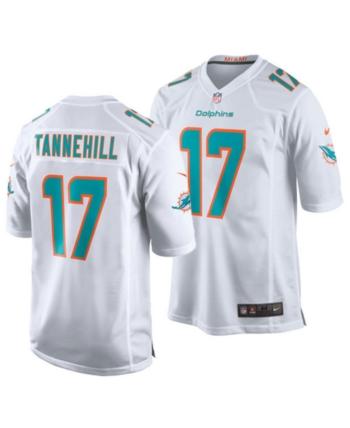 bb2235fa725 Nike Men's Ryan Tannehill Miami Dolphins Game Jersey - White XXL