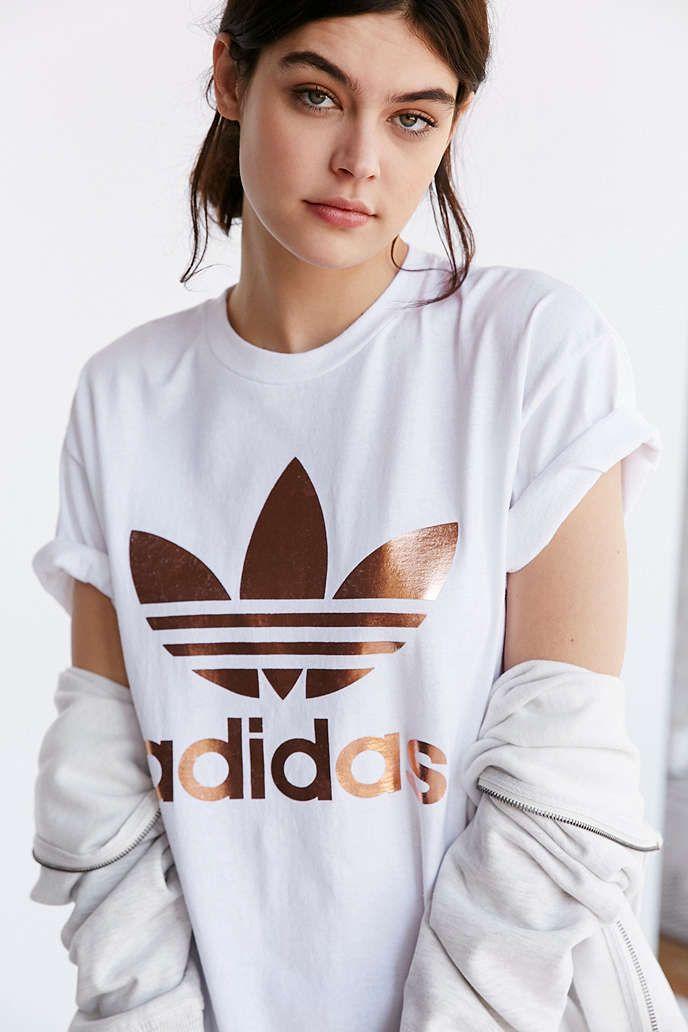 adidas t shirts damen gold