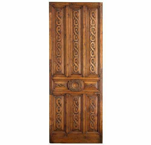 Portera Antique Spanish Doors - one of my favorites from Portera. The  design work carved in this door, is very attractive! - Portera Antique Spanish Doors - One Of My Favorites From Portera