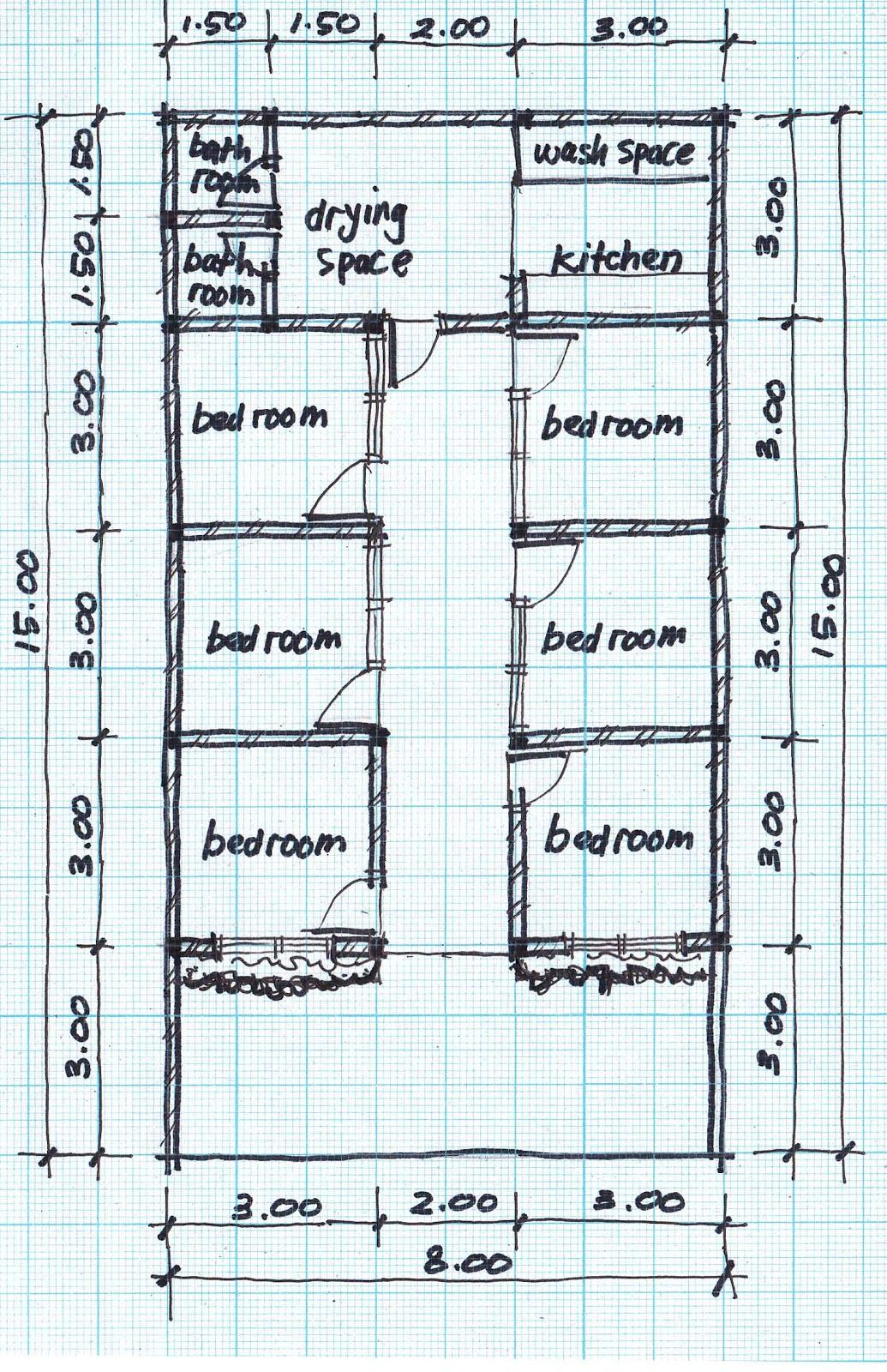 Contemporary Townhouse Plans Modern House Boarding House Plans