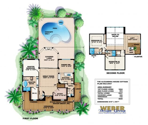 Cottage house plan alexandria cottage house plan weber for Weber house plans