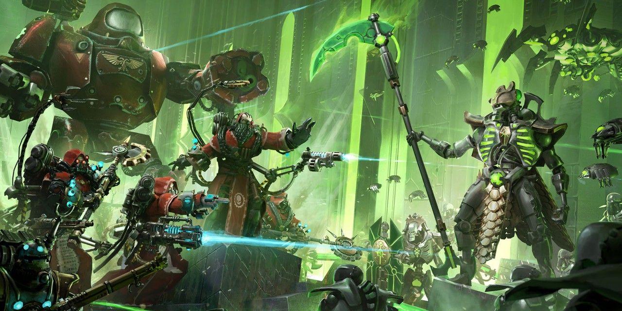 Warhammer 40 000 Mechanicus Nintendo Switch Releases Nintendoreporters Warhammer 40k Necrons Warhammer Warhammer 40k Artwork