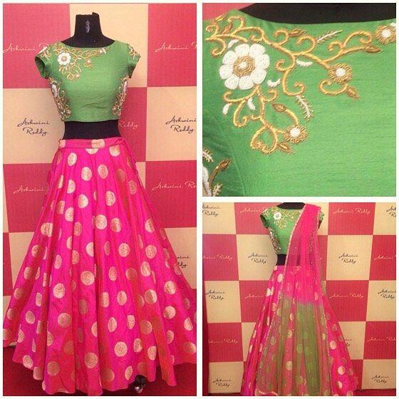 f9aac0997c Ashwini Reddy Collections. Hyderabad. Contact : 099497 06708. 24 July 2016.  latest designer Halfsaree Lehanga designs Maxi ...