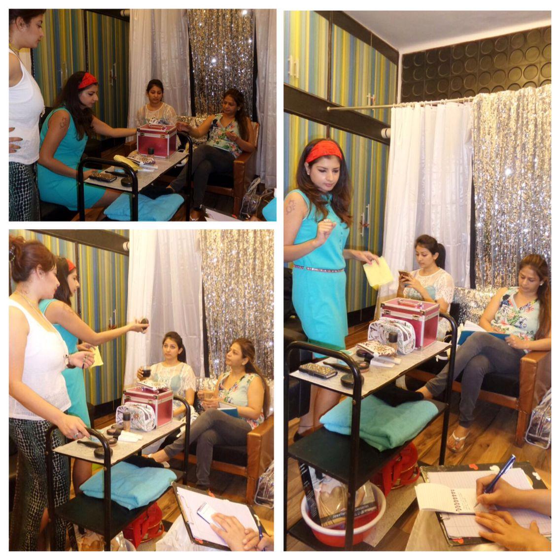 Personal Makeup Classes Professional Bridal Makeups Party Makeupartist
