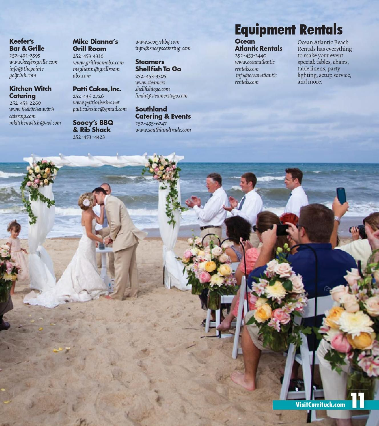 Currituck OBX Wedding Planner Wedding planners Planners and