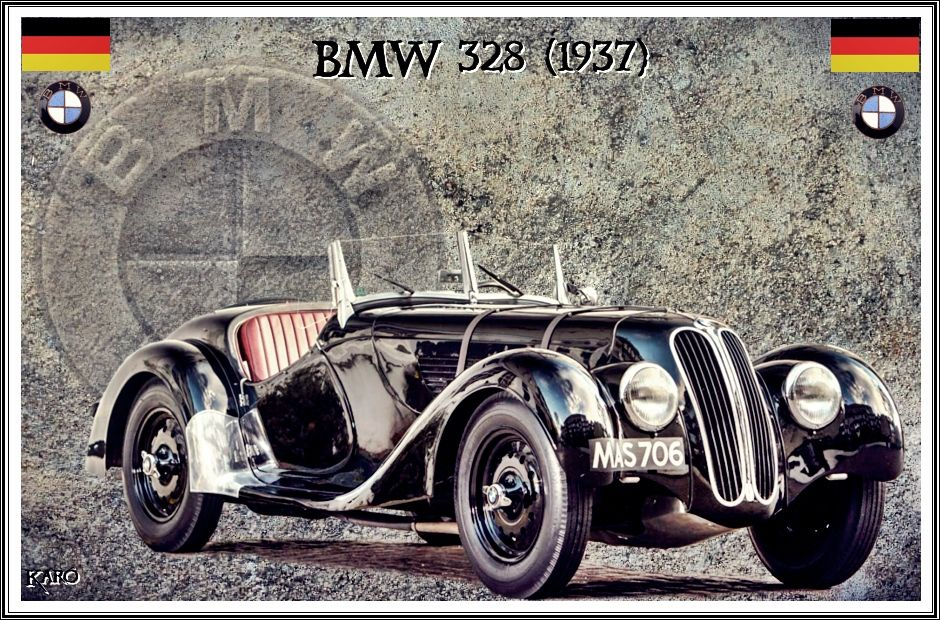 BMW 328 (1937) in 2020 (With images)