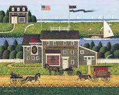 The Red Whale Inn by CHARLES WYSOCKI