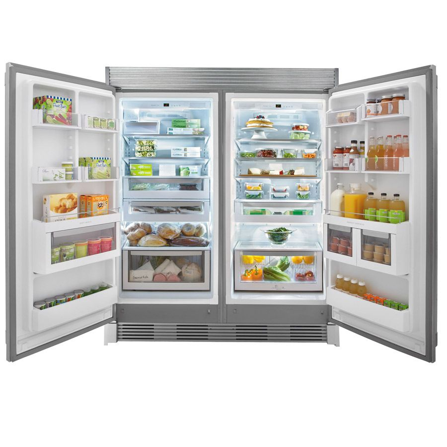 shop electrolux icon 1858cu ft freezerless stainless steel at lowes