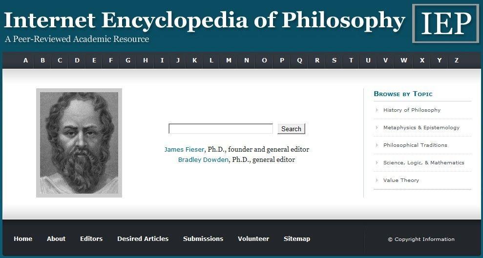 Internet Encyclopedia Of Philosophy 21st Century Learning And Teaching Encyclopedia Of Philosophy Encyclopedia History Of Philosophy