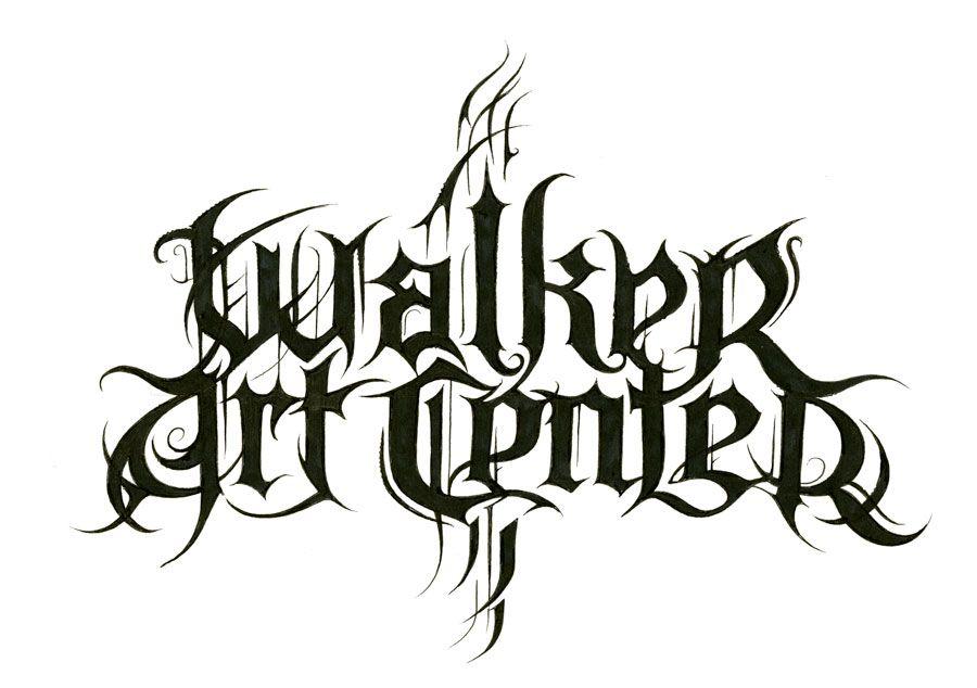 christophe szpajdel designs a black metal walker logo scripts rh pinterest co uk death metal logo designer death metal logo creator free