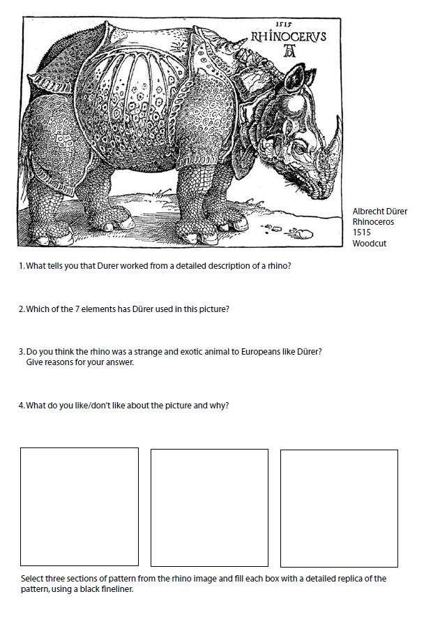 Yr 7 Homework | 7th Grade Art! in 2019 | Art worksheets