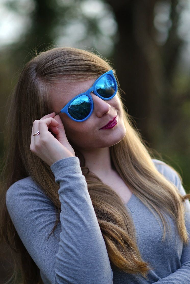 a749b00a57 New Blog Post - My New Ray-Ban Blue Velvet Erika Sunglasses http
