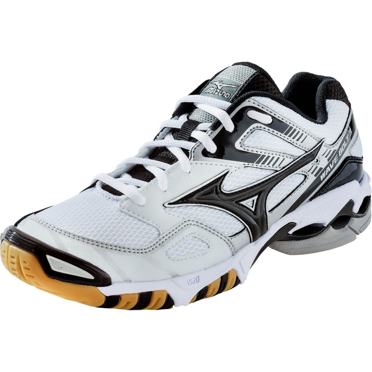 Mizuno Women S Wave Bolt 3 Mizuno Wave Technology Uniformly Disperses Shock Throughout The Sole Providing Lig Volleyball Shoes Sporty Shoes Badminton Shoes