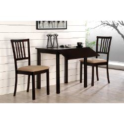 Black Drop Leaf Table Set For Small Kitchen Small Kitchen Table Sets Narrow Dining Tables Wood Dining Room Set