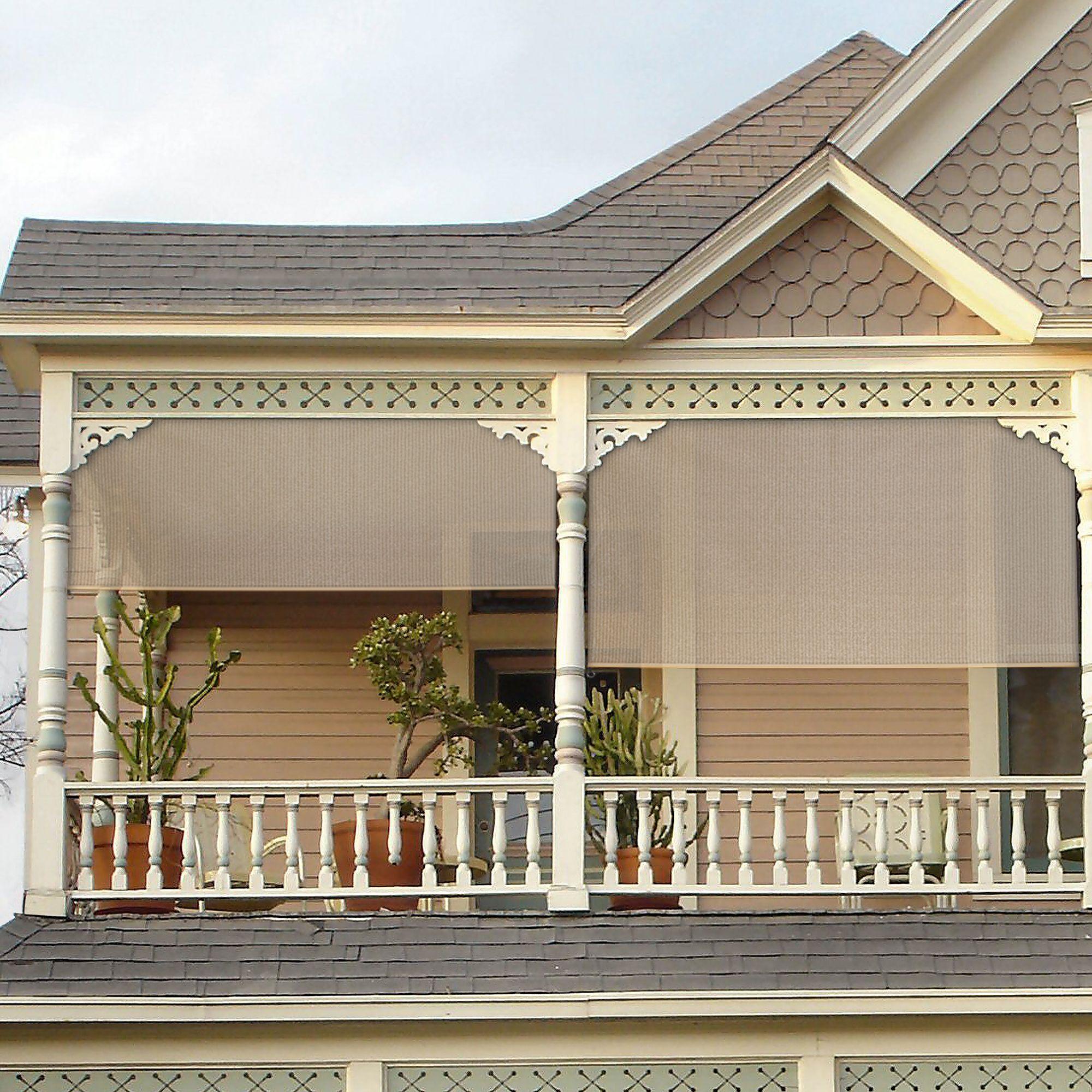 Unique Exterior Shades for Porch