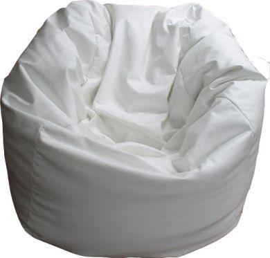 Fabulous Go The White Bean Bag Wsu Bean Bag Chair Outdoor Machost Co Dining Chair Design Ideas Machostcouk