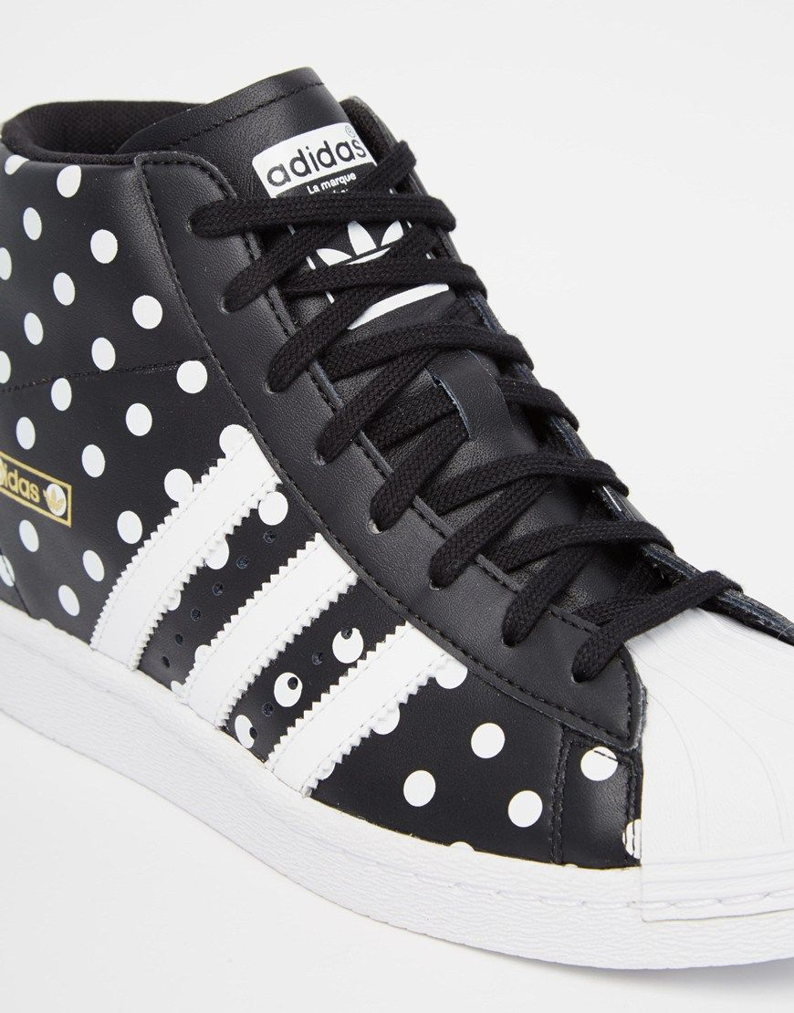 Adidas Originals Superstar High Top Spot Trainers 128 99