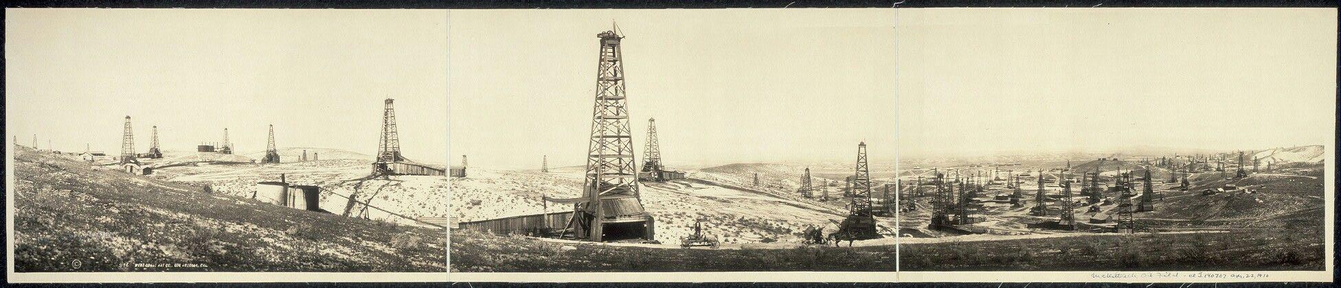 376 California Standard Oil Well 1, McKittrick Oil Field