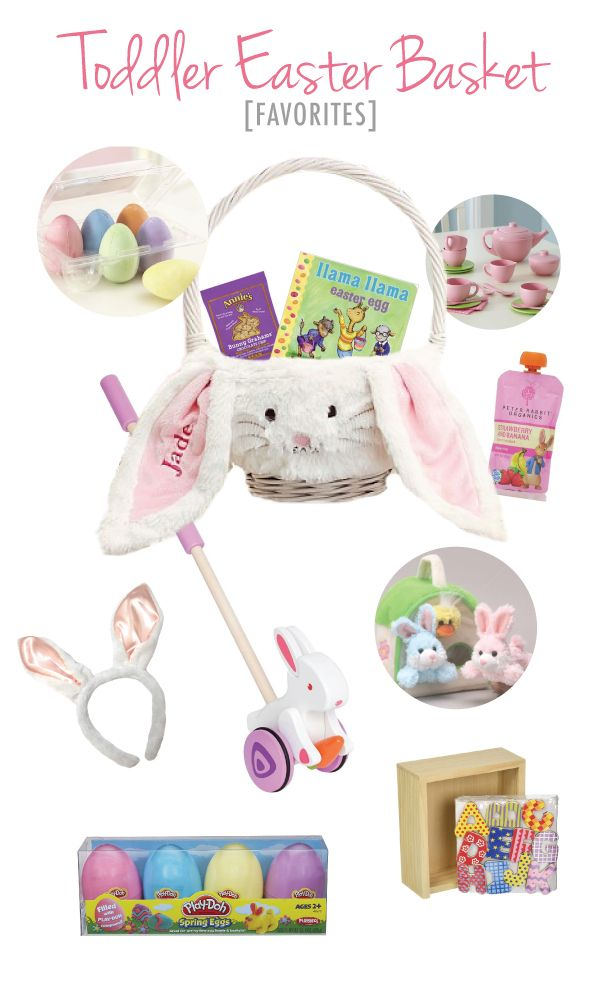 Easter basket ideas for toddlers and little girls holiday fun easter basket ideas for toddlers and little girls negle Choice Image