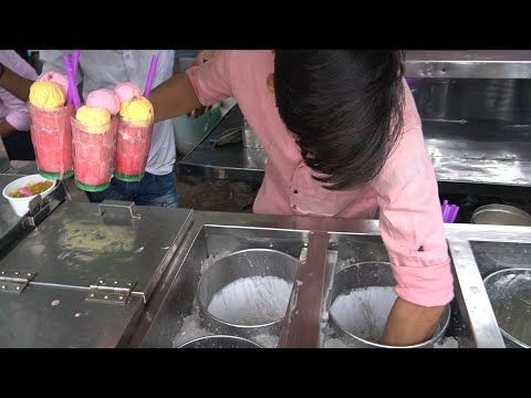 Biggest Tasty Icecream Ever Summer special Drinks   Indian Street Food