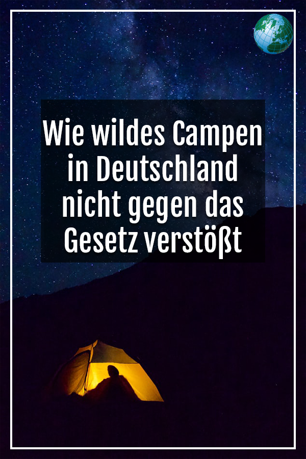 Photo of How wild camping in Germany does not violate the law