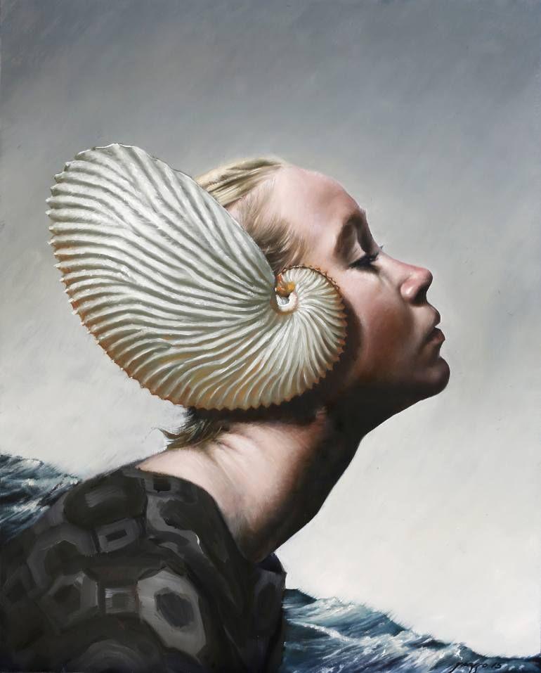 El Argonaut Realizado Por Victor Grasso Art Portrait Fine