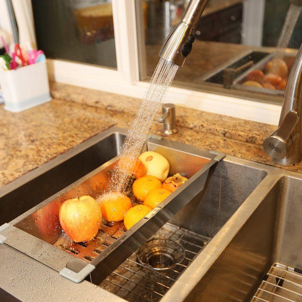 Boann Kitchen Sink Colander/ Strainer By BOANN