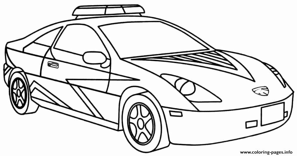 Police Car Coloring Page Beautiful Cool Police Car Coloring Pages