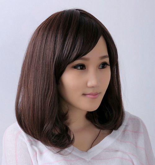 Terrific Hairstyles For Thick Hair Medium Length Hairstyles And Thick Hair Hairstyles For Women Draintrainus