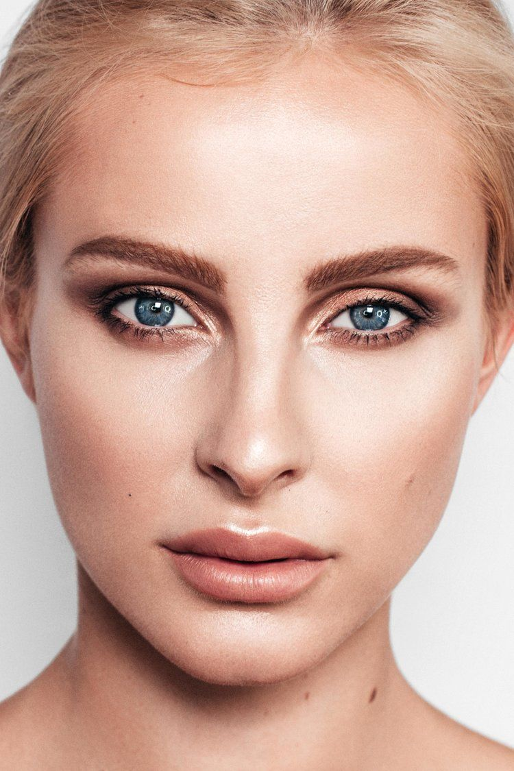 A natural makeup look created by Online Makeup Academy for