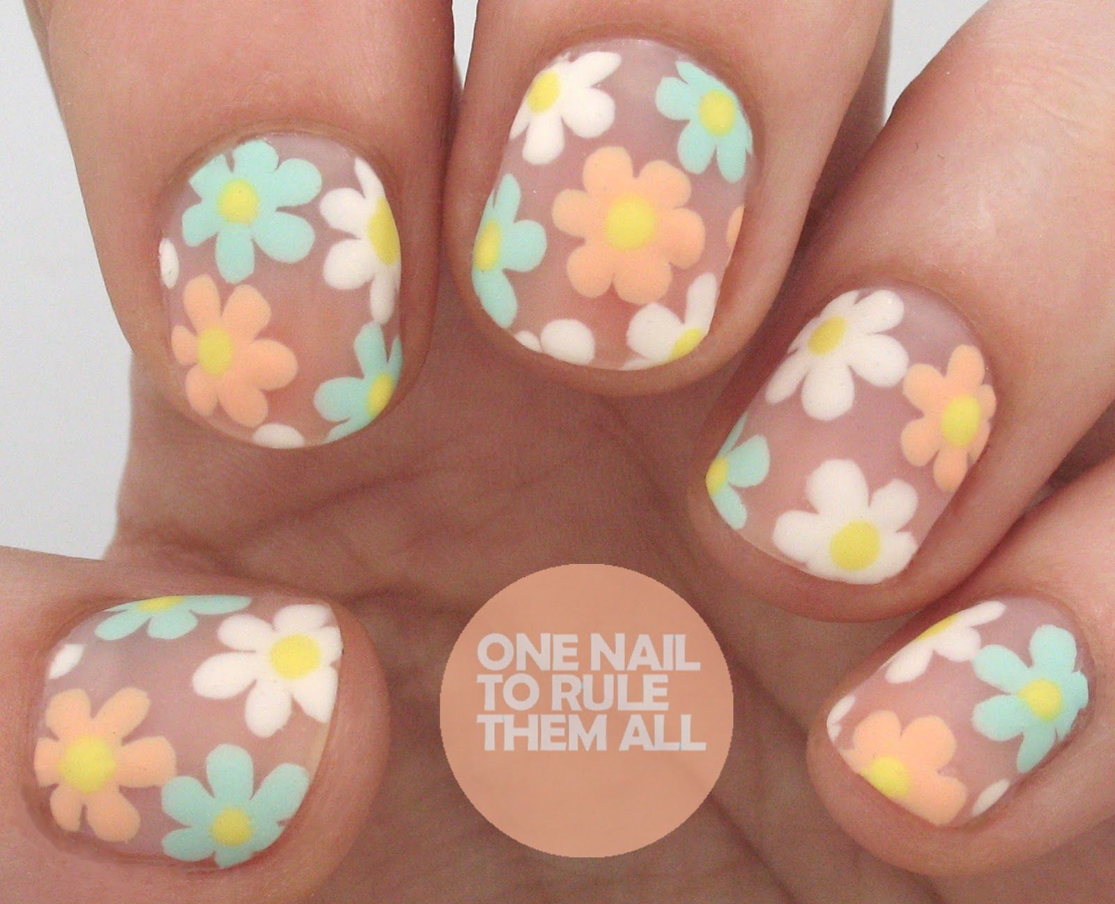 Tutorial Tuesday: Negative Space Florals (One Nail To Rule Them All ...