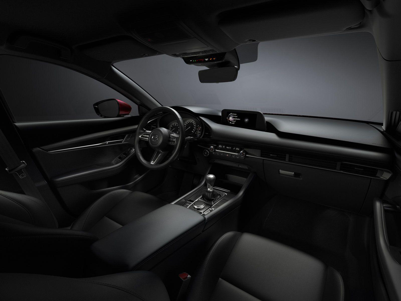 New Mazda3 Interior Design Mazda Mazda 3 Mazda 3 Sedan