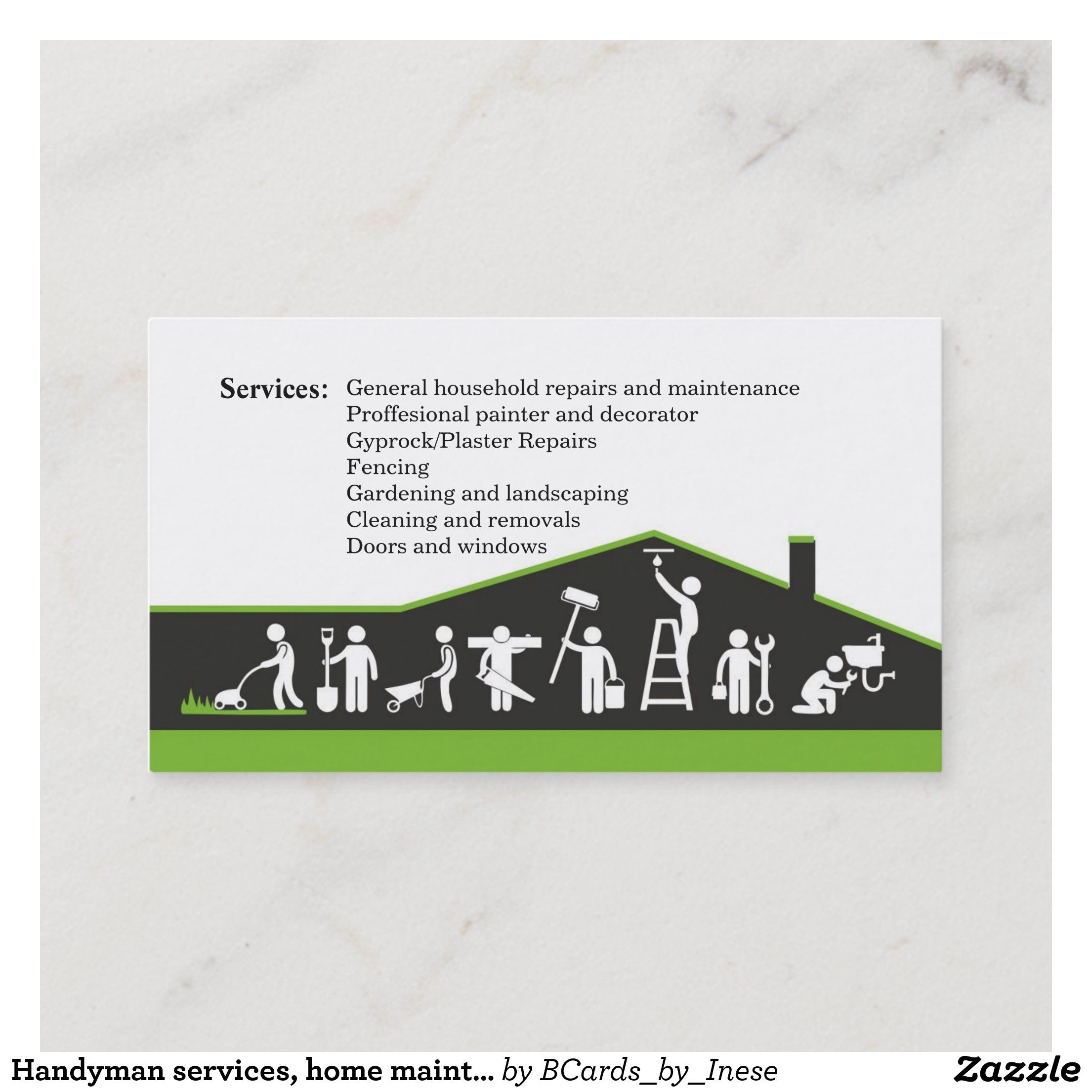 Cementing Brick Plastering Construction Manager Business Card Zazzle Com Construction Business Cards Business Card Template Card Template
