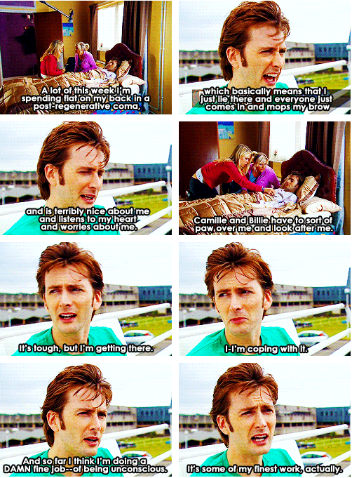 One of my favorite behind-the-scenes scenes from Doctor Who. - My love for David knows no bounds.<<<David Tennant is fabulous