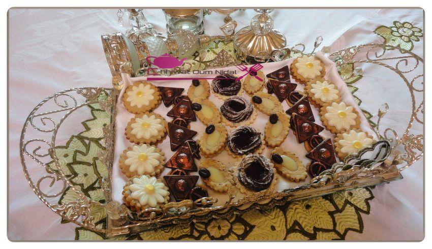 حلويات صابلي مشكلة من عجين واحد مطبخ أم نضال Food Desserts Cake