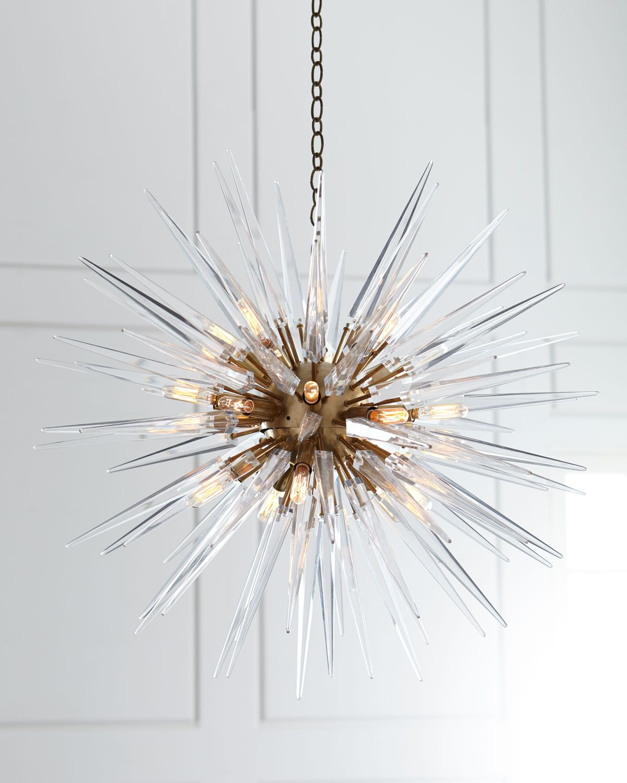 Visual Comfort Quincy Medium 20 Light Sputnik Pendant