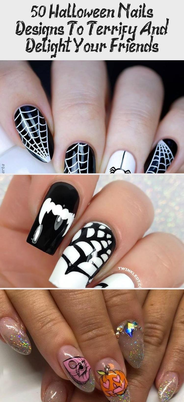 My Blog En Blog In 2020 Halloween Nails Nails Scary Nails