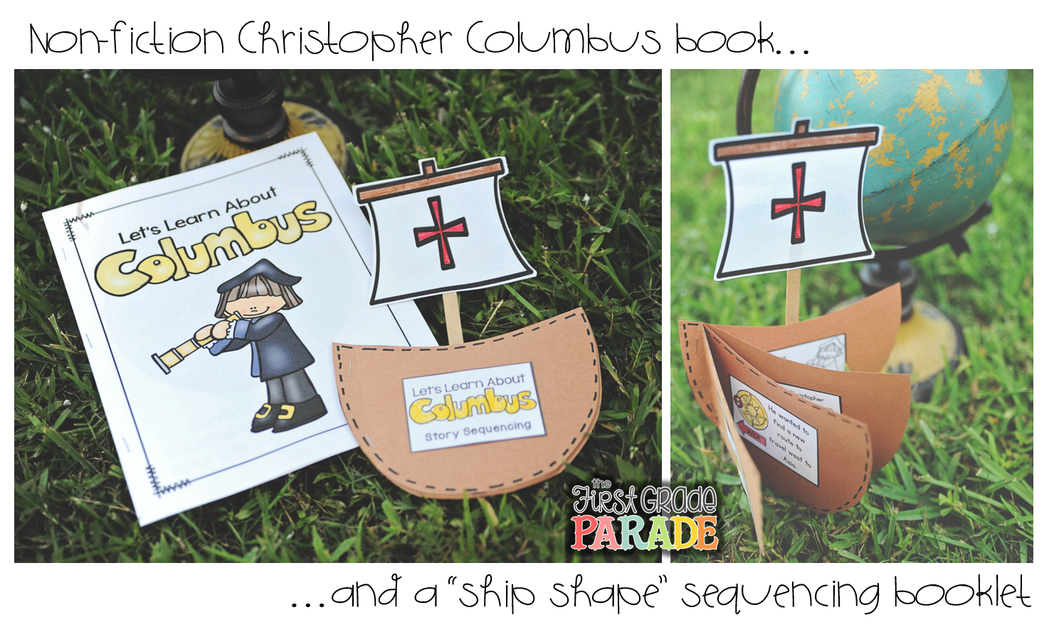Columbus Day story sequencing ship shape book | Top Teachers ...